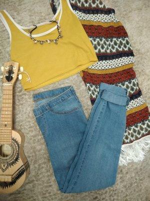 Vintage Jeans Denim hellblau