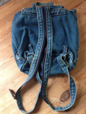 Vintage jeans rucksäckchen plus Tasche von bulaggi !