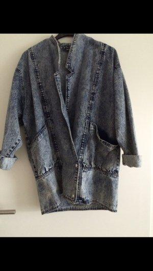 Vintage Jeansjacke blau gebraucht kaufen  Wird an jeden Ort in Deutschland
