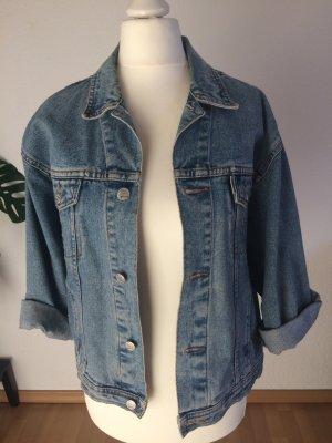 Vintage Jeansjacke in Jeansblau