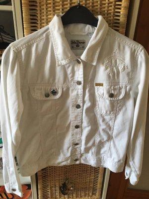 John Baner Denim Jacket white
