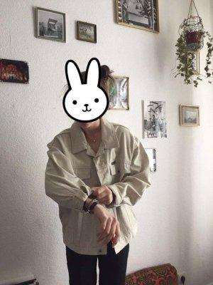 Vintage Jeansjacke Weiß