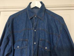 Vintage Jeansjemd Cowboy in M
