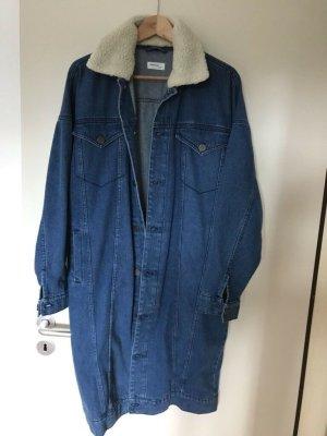 Gestuz Oversized Coat blue