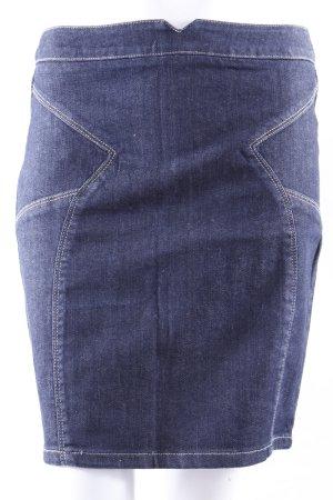 Vintage Jeansrock dunkelblau