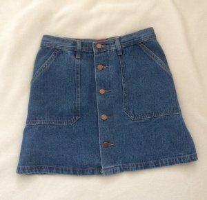Vintage Jeansrock Highwaist
