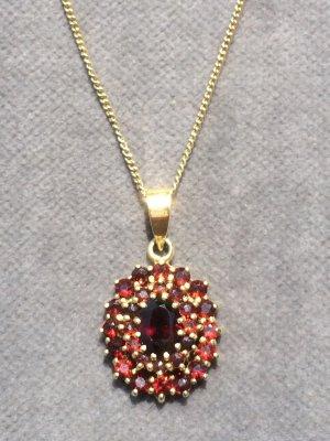 Collier Necklace carmine-silver-colored