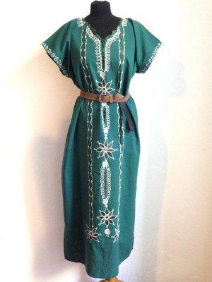 Vintage Kaftan/Kleid im Boho Style, passt Gr. 36-40, 100% Baumwolle