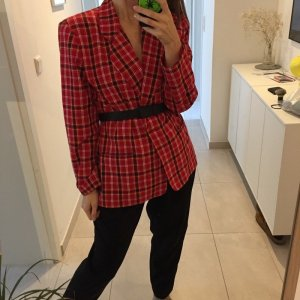 Vintage karierter Blazer Leslie Fay Sportswear Oversize