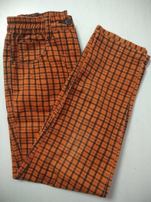 Vintage Karotten Hose Highwaist 7/8 kariert