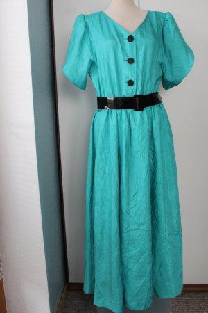 Vintage Kleid 1,30 m lang grün C&A Sommerkleid Gr. 42