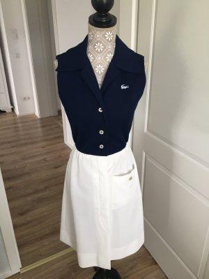 Vintage Kleid 60er Lacoste Navy blau David Crystal XS