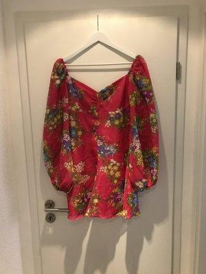 Robe avec jupon multicolore