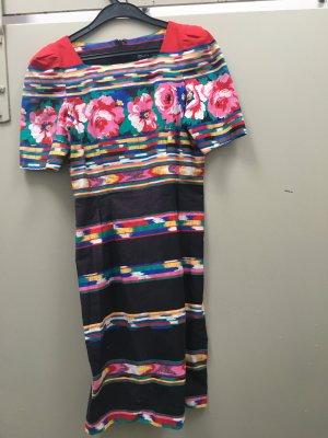 Vintage Kleid Boho aus den USA Gr. 38 Etuikleid Blumenkleid Bleistiftkleid