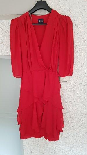 vintage kleid gr. 38 rot