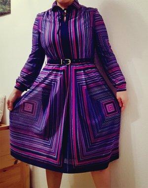 vintage kleid gr. 42 lila pink