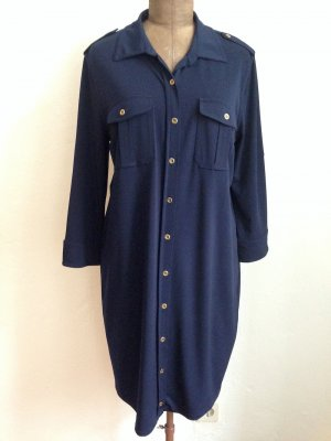 Vintage Kleid im Hemdblusenstil, Gr. 44