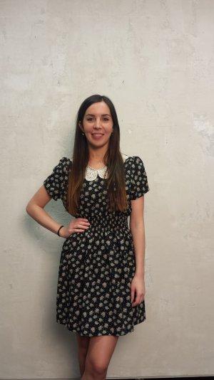 Vintage-Kleid mit Blümchenmuster Retro-Style