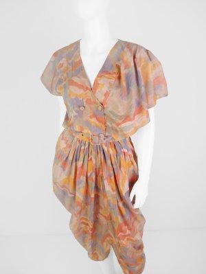 vestido de globo multicolor Viscosa