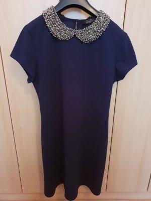 Vintage Kleid mit Kragen
