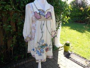 Vestido Hippie multicolor fibra textil
