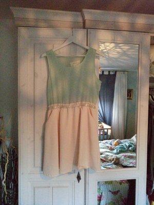 vintage kleid pastellfarben