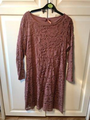 Vintage Kanten jurk veelkleurig