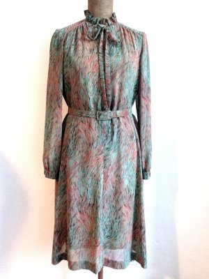 Vintage Kleid von Delmod aus Chiffon, Gr. 40