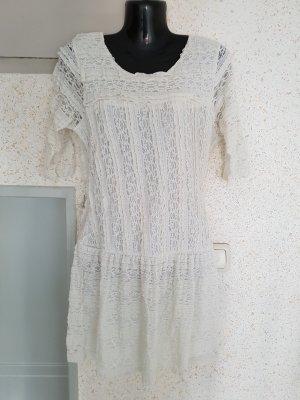 vintage kleid weis gr. m