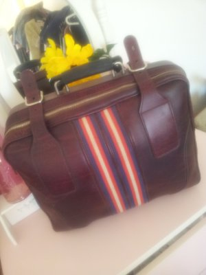 Suitcase bordeaux