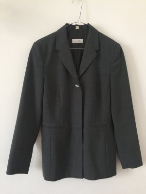 Amalfi Traje para mujer gris oscuro tejido mezclado