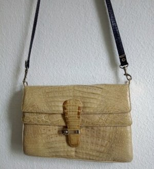 Vintage Krokoleder Handtasche