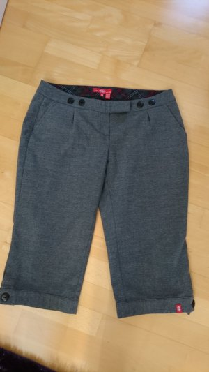edc by Esprit Woolen Trousers grey polyester