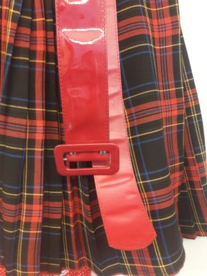 Cinturón de cadera rojo