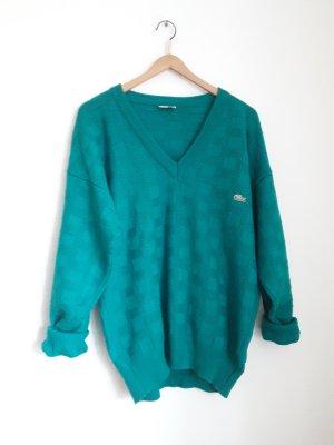 vintage Lacoste Pullover grasgrün