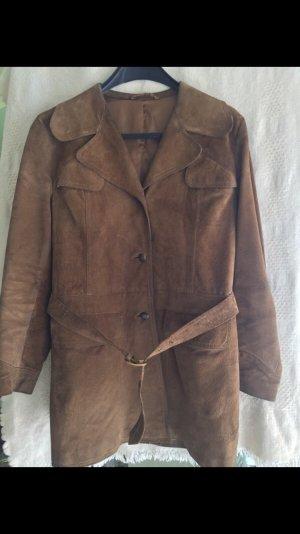 Vintage: Lässiger Lederjacke mit Gürtel