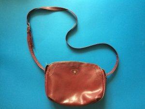 Vintage Leather Bordeaux Bag