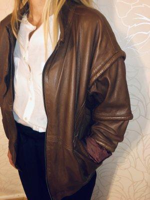 Bomber Jacket brown-cognac-coloured