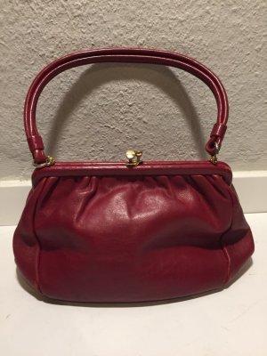 Vintage Leder-Handtasche