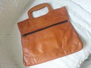 Vintage Leder Handtasche!