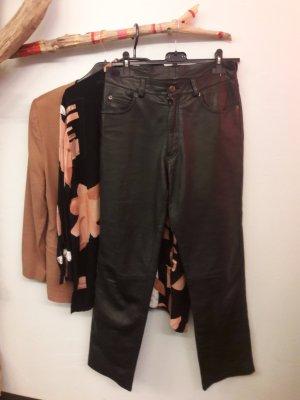 Gypsy Pantalone in pelle nero Pelle