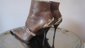 Vintage Leder Lorenzi Limited Edition Stilettos Seltene Kunststücke