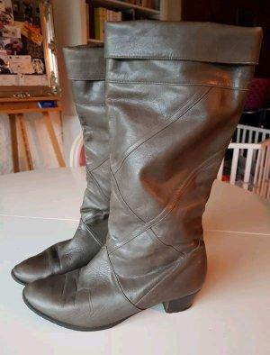 Vintage Leder-Stiefel