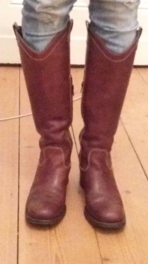 Vintage Leder-Stiefel von  Prego