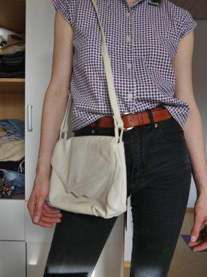 Vintage Lederhandtasche