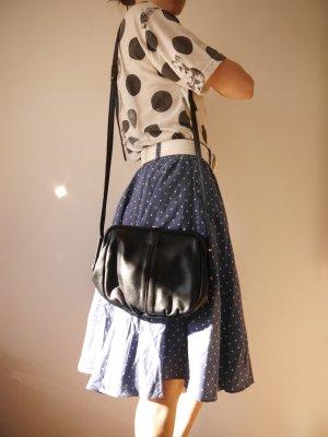 Vintage Lederhandtasche / Umhängetasche