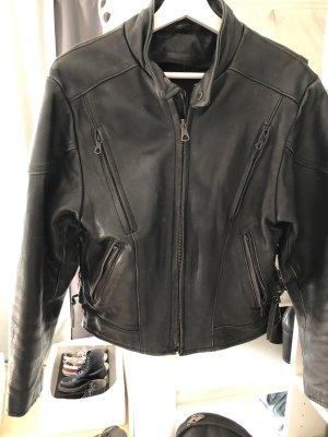 Chaqueta de motociclista negro