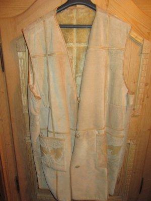 Vintage Lederjacke ohne Ärmel