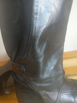 Vintage Jackboots black leather