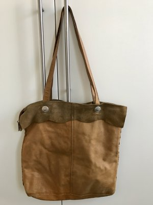 Vintage-Ledertasche, Made in Italy